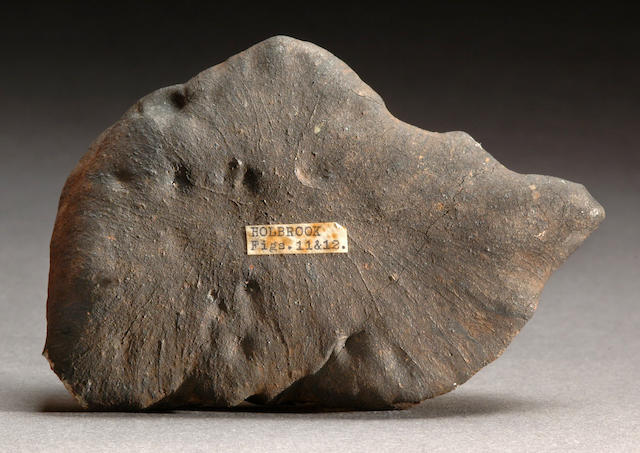 Holbrook — The Oriented Meteorite Depicted in Foote's 1912 Abstract Accompanied by the Original Abst