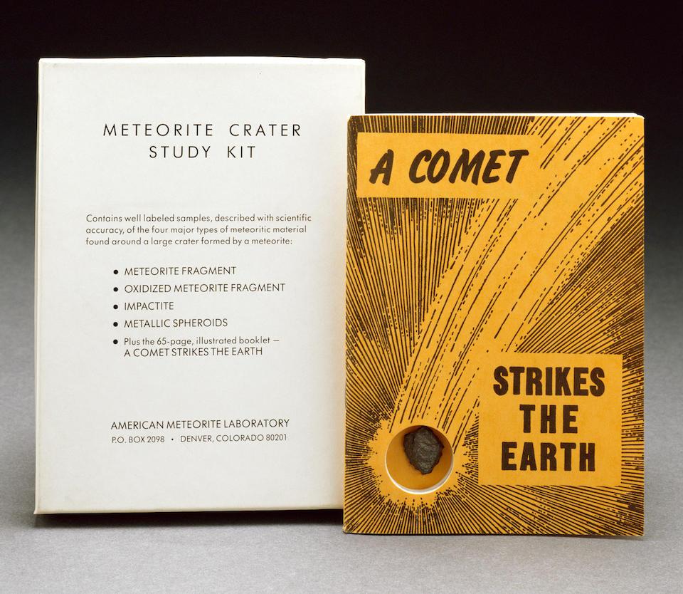 Canyon Diablo — Zoomorphic Meteorite with Nininger Study Kit
