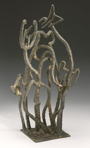 November Modern: Greene-Mercier, Untitled, bronze,25in