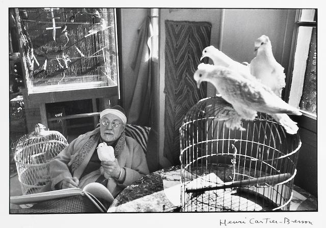 Henri Cartier-Bresson (French, 1908-2004); Henri Matisse, Vence, France;