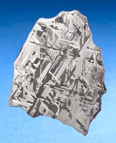 Henbury Meteorite – Complete Slice of a Meteorite From Renowned Australian Meteorite Shower