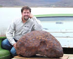 Brenham Main Mass — The World's Largest Oriented Meteorite With Extraterrestrial Gems