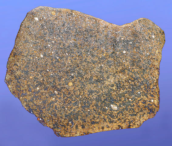 North West Africa (NWA) 250 — Large Complete Slice of a Stone Meteorite