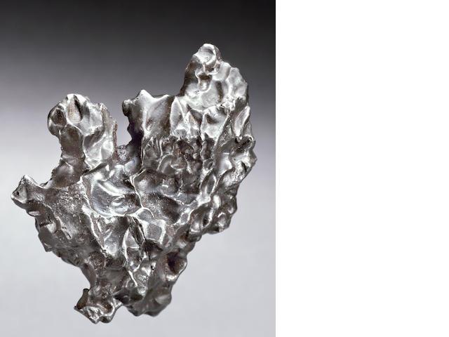 Sikhote-Alin Meteorite — Oriented Complete Meteorite