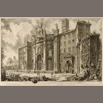 Giovanni Battista Piranesi (Italian, 1720-1778); 16 Plates, from Vedute di Roma; (16)