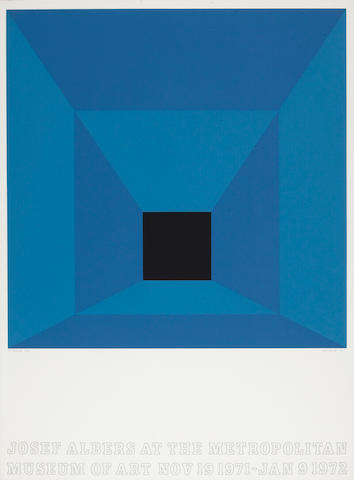 Josef Albers (American, 1888-1976); Josef Albers at the Metropolitan Museum of Art; (4)