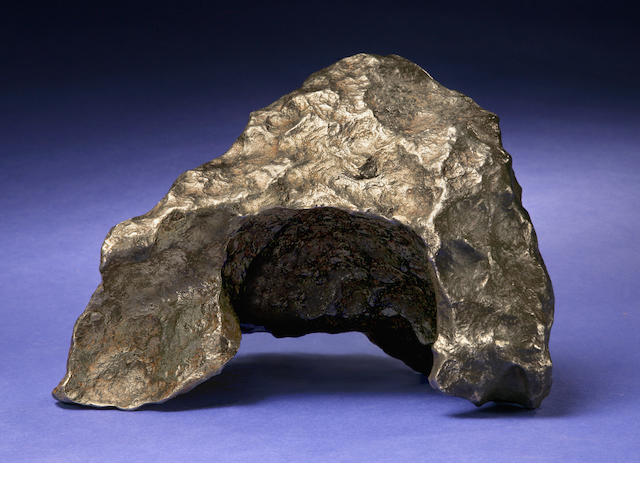 Gibeon Meteorite — Tabletop Sculpture From Outer Space