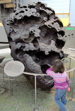 Willamette Meteorite – Crown Section of the Most Famous Meteorite in the World