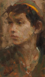 Richard Alan Schmid (American, born 1934) Standing Boy; Profile of a Boy, 1959; Morning Light, 1960