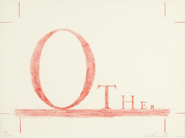 Edward Ruscha (American, born 1937); Other;