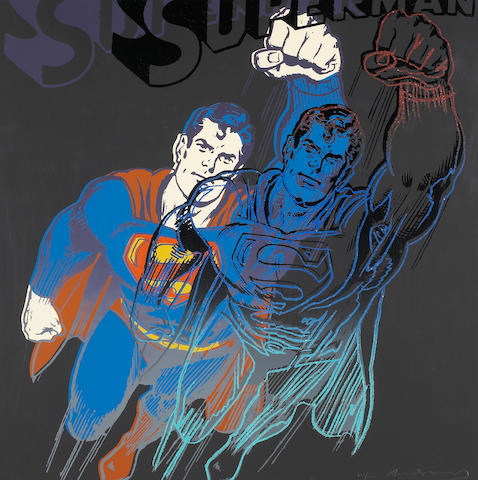 Andy Warhol (American, 1928-1987); Superman, from Myths;