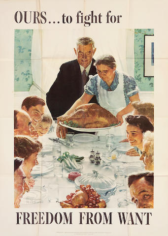 Norman Rockwell (American, 1894-1978); Four Freedoms;