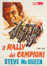 "A Steve McQueen 1972 two-sheet Italian movie poster for ""Il Rally dei Champion"", 78 x 55in"