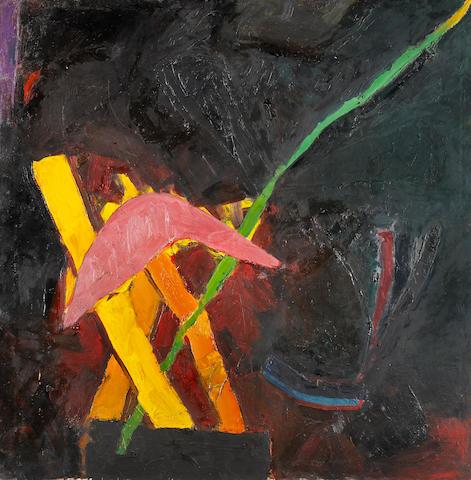 """Joan Brown (American, 1938-1991) Al Jolson's """"Mammy"""" #2, 1960 69 x 69in (175.3 x 175.3cm)"""