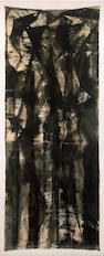 Rico Lebrun, Untitled, 1955, ink and ink wash on linen