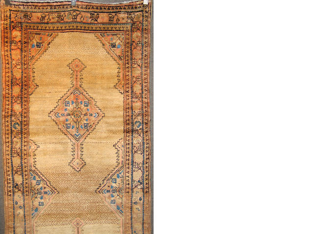 A Serab runner Northwest Persia, size approximately 3ft. 6in. x 15ft. 6in.