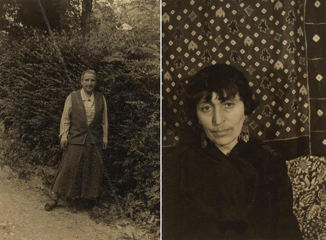 Carl van Vechten (American, 1880-1964); Gertrude Stein at Les Charmettes; Alice B. Toklas; (2)