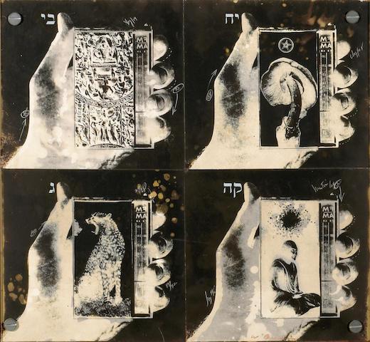 Wallace Berman (American, 1926-1976) Untitled, 1978 12 X 13in (30.5 x 33cm)