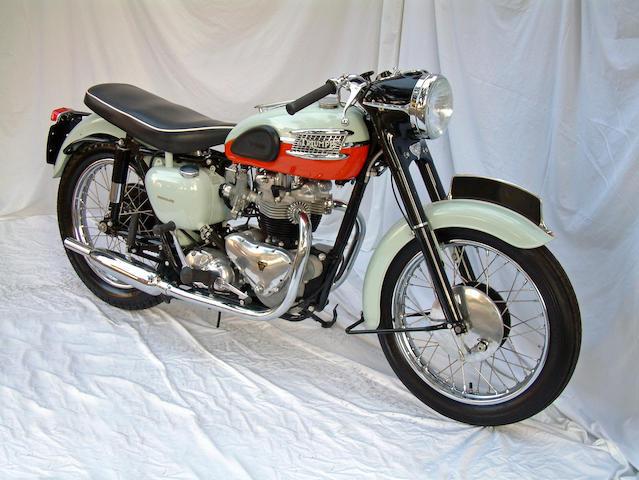 1959 Triumph 650cc T120R Bonneville Frame no. T120 026351 Engine no. T120 026351
