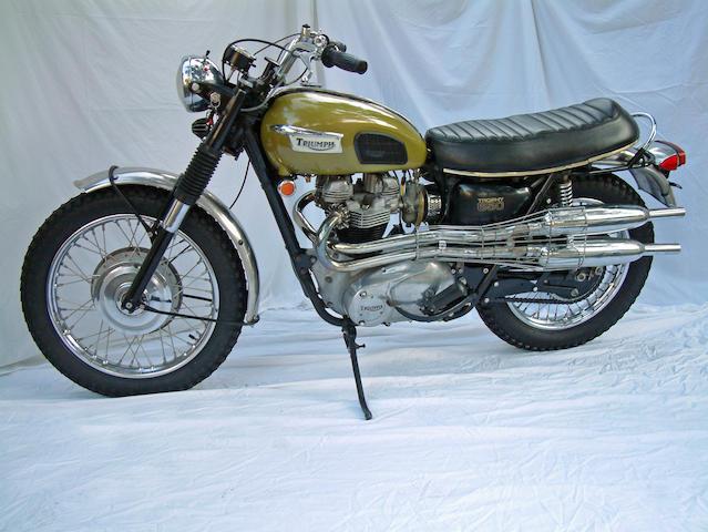 1970 Triumph 649cc TR6C Trophy Frame no. TR6C KD59887 Engine no. TR6C KD59887
