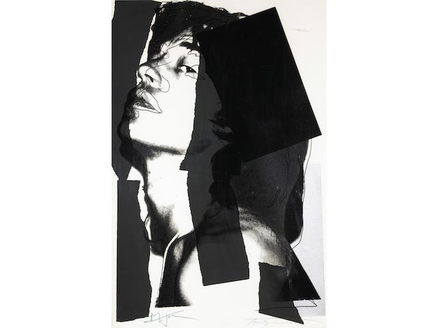 Andy Warhol (American, 1928-1987); Mick Jagger;