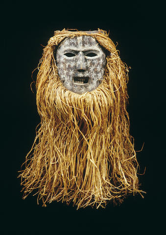 An Ituri River initiation mask