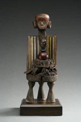 A Western Tanzanian shrine ensemble