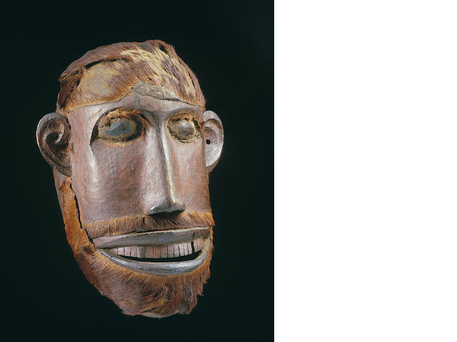 A Makua or Makonde facemask