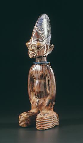 A Yoruba twin figurine, Ibeji