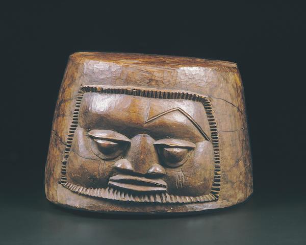 A Yoruba ritual mortar