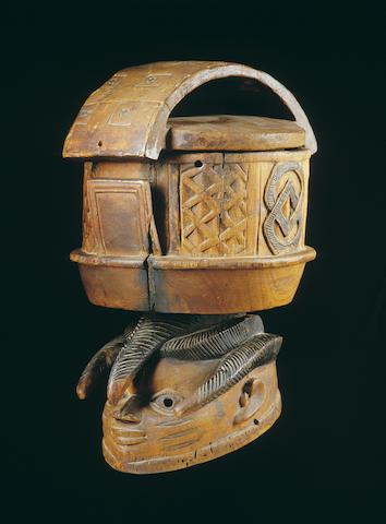 A Yoruba Gelede mask