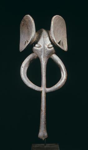 A Bamileke elephant mask