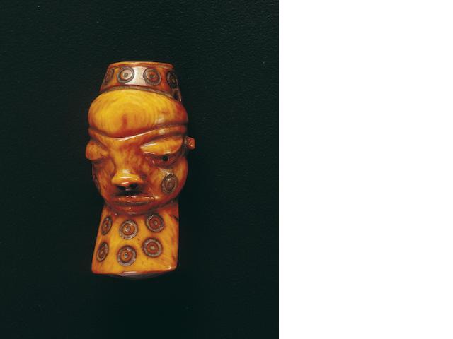 A Pende ivory pendant