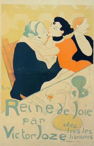 Henri de Toulouse-Lautrec (French, 1864-1901); Reine de Joie;