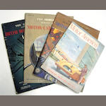 Assorted sales catalogues and motoring ephemera, 1950s,