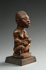 A Bakongo maternity figure