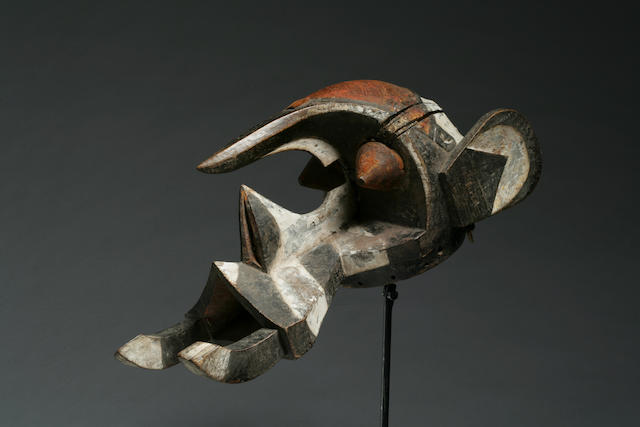 An Ibo elephant mask
