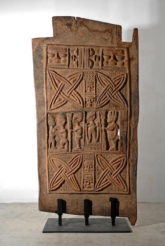 A Yoruba palace door