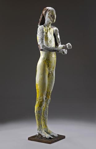 Manuel Neri (American, born 1930) Standing Figure, 2005 69 x 18 x 20 1/2in (175.3 x 45.7 x 52.1cm)