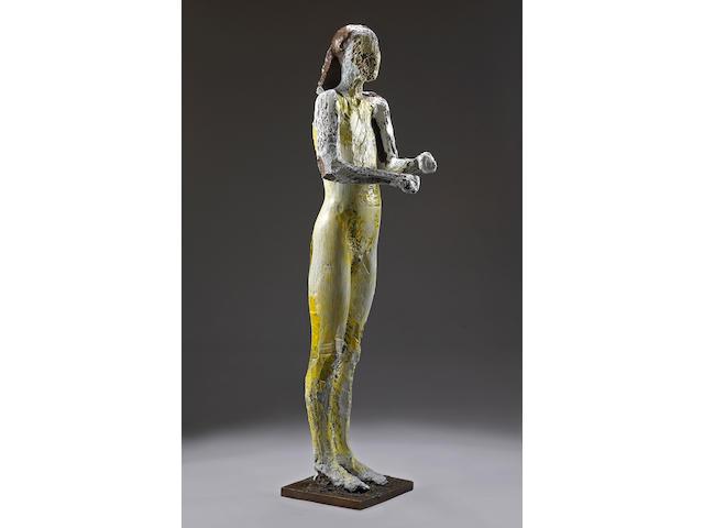 Manuel Neri (American, born 1930) Standing Figure, 2004 69 x 18 x 20 1/2in (175.3 x 45.7 x 52.1cm)