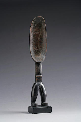 A superb Dan figural spoon
