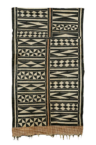 A Fijian tapa cloth