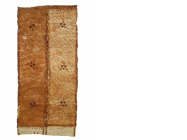 A Tongan tapa cloth