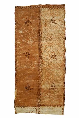 A Tongan tapa cloth