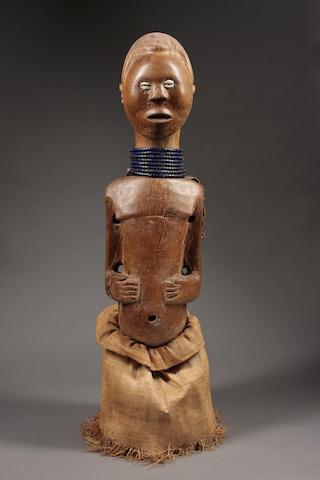 A Luba / Songye power figure