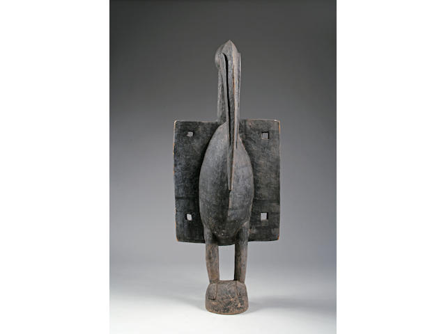 A Senufo guardian bird figure