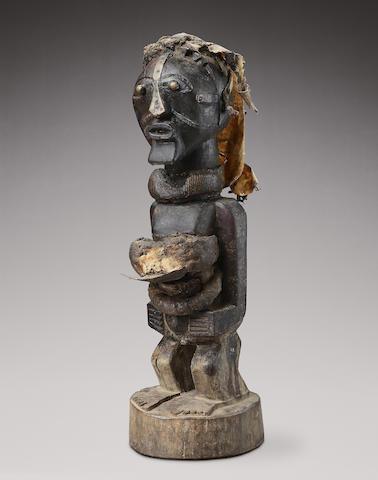 A Songye community power figure