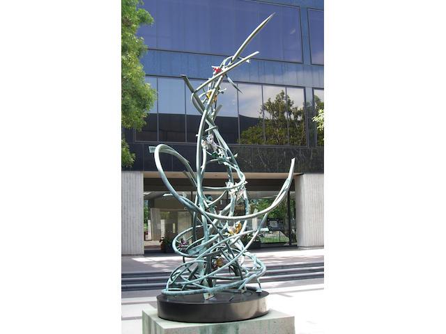 Claire Falkenstein (American, 1908-1997) D.N.A. Molecule, 1970 - 1971 180 x 60 x 60in (457.2 x 152.4 x 152.4cm)