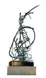 Claire Falkenstein (American, 1908-1997) D.N.A. Molecule, 1970 - 1971 180 x 60 x 60in (457.2 x 152.4
