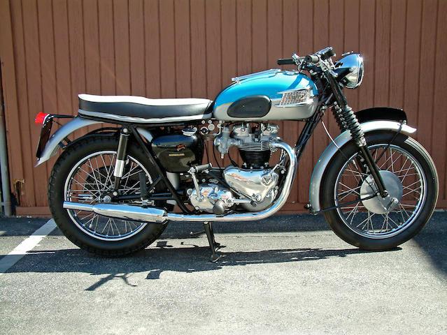 Bonhams 1962 Triumph 650cc T120r Bonneville Frame No T120 D18699